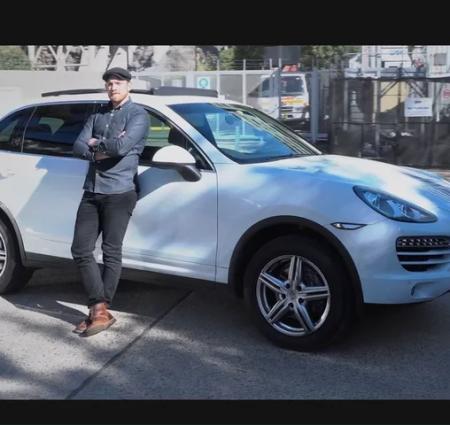 Porsche TVC still